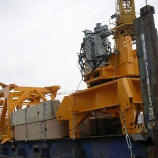 Carga FLAT RACK-betoncranes-beton-cranes-export-spain-europe